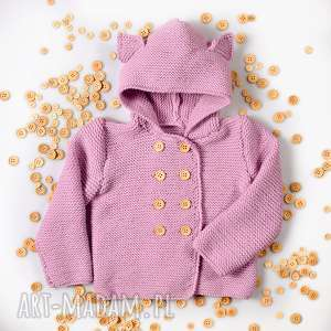 sweter kotek merynos dziecięcy - sweterek, kotek, dziewczynka, dziecko, wełniany