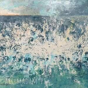 ajan art morze - obraz olejny, ręcznie malowany, oryginał
