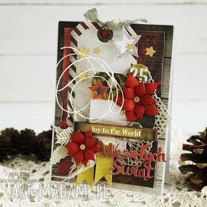 vairatka handmade kartka świąteczna, boże narodzenie