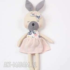 lala przytulanka króliczka zosia, lalka, królik, prezent, zajączek