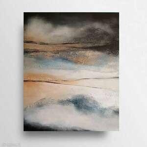 abstrakcja-obraz akrylowy formatu 50/60 cm, abstrakcja, akryl, obraz