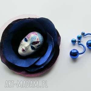 ręcznie wykonane broszki broszka z kolekcji masquerade - dreamcatcher