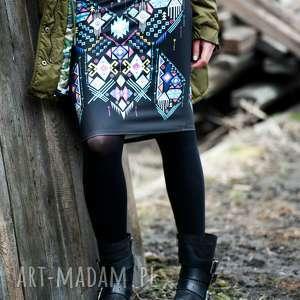 gaul designs spódnica ołówkowa, spódnica, wzór