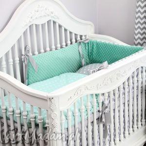 pokoik dziecka ochraniacz minky do łóżeczka 30x155cm obijacz zygzak