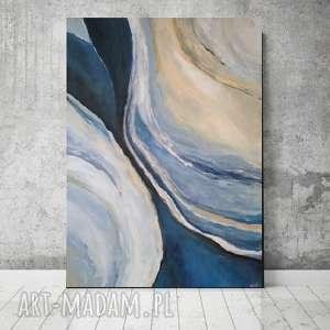 abstrakcja -obraz akrylowy formatu 40/60