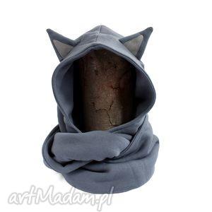 komin z kapturem - kot, kotek, uniwersalny, kaptur, ciepły, zwierzę