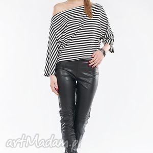 handmade spodnie rurki z cienkiej, elastycznej eko skóry