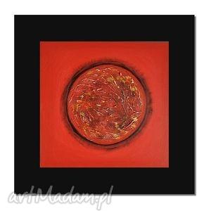 fireball 2, nowoczesny obraz ręcznie malowany, obraz, ręcznie, obrazy