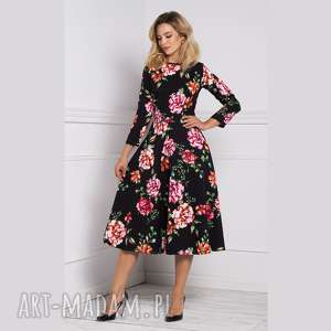 Sukienka klara 3 4 total midi afrodyta sukienki livia clue