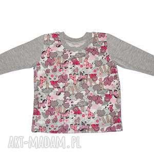 safari bluzka dla dziewczynki, zwierzątka, bawełniana, rozmiary 68-122, koszulka