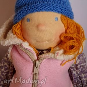 Lalka waldorfska Kaya, lalka, waldorfska, mojalala, szmaciana, dziewczynka, prezent