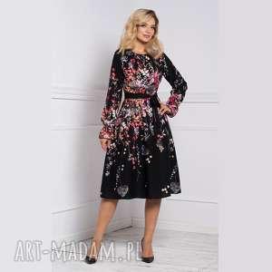 sukienka colin midi asteria, na jesień, jesienna sukienka