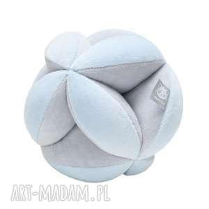 Prezent Piłka Puzzlowa Takane szary błękit, piłka, piłeczka, takane, montessori