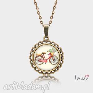 medalion okrągły mały love bike, rower, jazda, hobby, sport, pasja, prezent