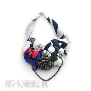 mgieŁka naszyjnik handmade - naszyjnik, kolorowy, wielobarwny