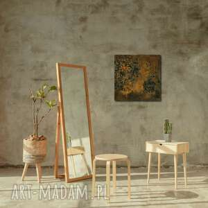 Obraz 50x50cm rdza 'rustykalna' wzór 3d ovo design dekoracja