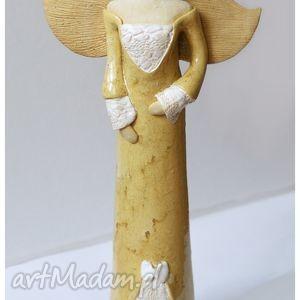 wylegarnia pomyslow anioł ślubny z dedykacją, ceramika, ślub, dom