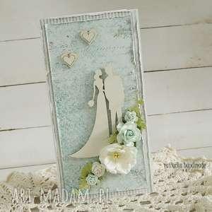 kartka ślubna w pudełku, 143, ślub, ślubna, wesele, młoda para