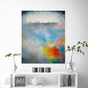 drzewa-obraz akrylowy formatu 50/60 cm, drzewa, akryl, obraz, płótno