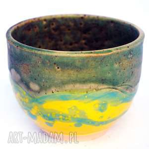 ceramiczna czarka- jt nr20, czarka, naczynie, użytkowe, unikatowe, ceramika