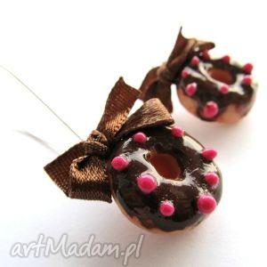 handmade kolczyki kolczyki donuty