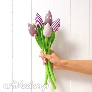 hand made dekoracje tulipany
