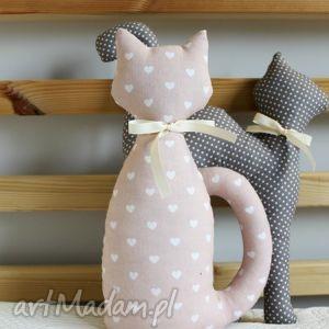 Maskotka Kotek z bawełny :), kotek, kot, maskotka, zabawka