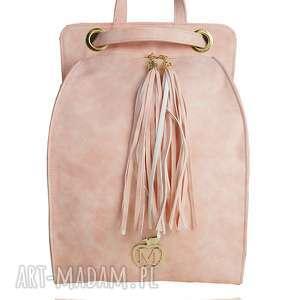 MANZANA PLECAK/TOREBKA WYGODNY STYL- RÓŻOWA, plecak, torebka, manzana, moda, wygoda