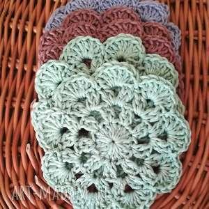 podkładki rustykalny domek podkładki, rękodzieło, bawełna, stół