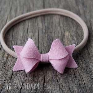 ozdoby do włosów butterfly bow opaska różowa, opaska, dziewczynka, okaza