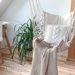 poduszki poduszka dekoracyjna ze sznurka bawełnianego, poduszka, sznurek