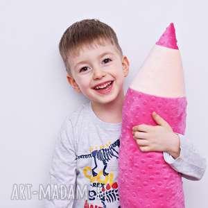 zabawki kredka minky, poduszka dla dziecka, zagłówek ochraniacz