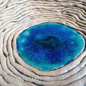 ceramika misa morskie oko, ceramika, rękodzieło, dekoracja stołu
