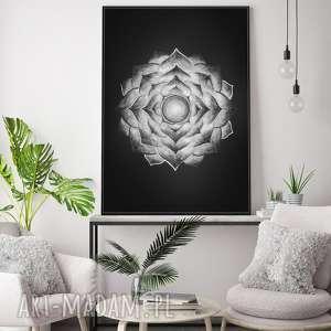 Mandala 50x70cm, plakat, mandala, grafika, sztuka, obraz