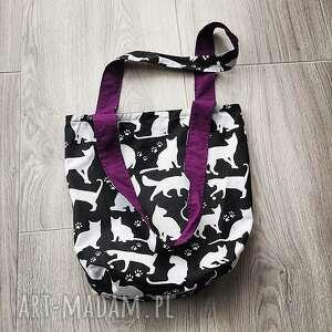 torebki eco torba bawełniana, torba, szoperka, koty