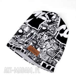 handmade czapki czapka marvel komiks unisex