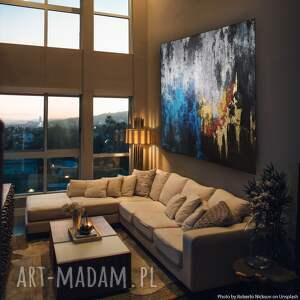 autumn, wym 100x100 cm, dostępny w wielu wymiarach, abstrakcja, duży format