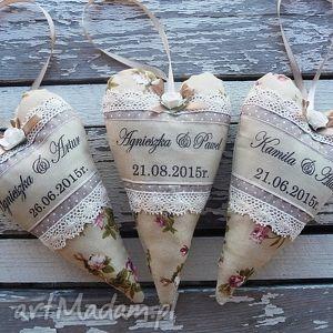 ślub serduszko dla nowożeńców, ślub, serduszko, dekoracja, wesele, zawieszka