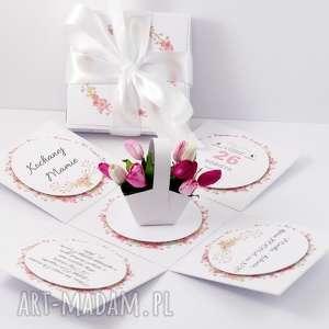 Prezent Exploding box imieniny, explodingbox, urodziny, prezent, kobieta