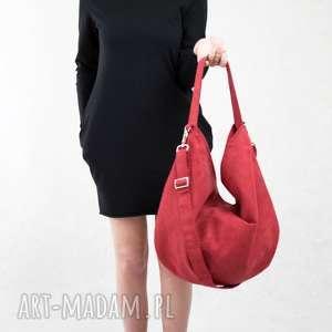 Hobo XL True Colors Red, czerwona, torebka