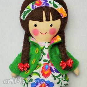 malowana lala marysia - lalka, zabawka, prezent, niespodzianka, dziecko, przytulanka