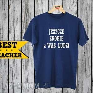 koszulka z nadrukiem dla nauczyciela, prezent na dzień edukacji, super nauczyciel