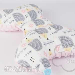 ręczne wykonanie pokoik dziecka poduszka motylek antywstrząsowa
