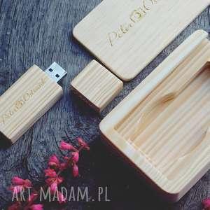 Pendrive - Sosna 1 16 GB Grawer, pendrive, drewno