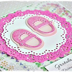 Gratulacje! To Dziewczynka!, kartka, narodziny, urodziny, dziewczynka, gratulacje