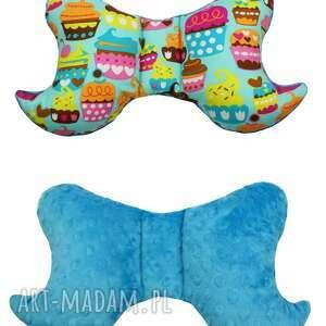 dla dziecka poduszka motylek, antywstrząsowa, wzór muffiny, poduszka, motylek