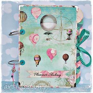 planer ślubny - latające balony, planner, planer, ślubny, ślub, wesele, prezent