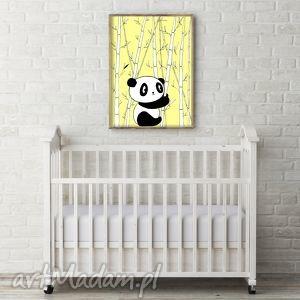 panda a3 - panda, miś, obrazek