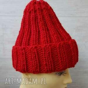 Gruba czapka unisex czapki albadesign dla marynarza, zimowa