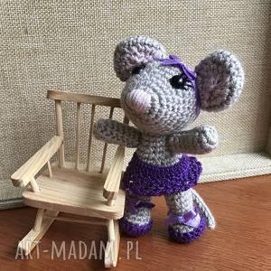 Wyprzedaż myszka baletnica zabawki asiek1 myszka, szydełko